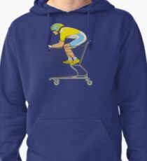 Retail Racer Pullover Hoodie