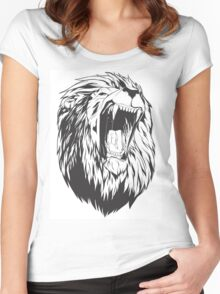 Roaring lion Women's Fitted Scoop T-Shirt
