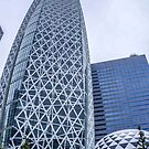 Mode Gakuen Cocoon Tower, Tokyo, Japan by PhotoStock-Isra