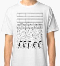 Camiseta clásica Cantando en el Raaaain