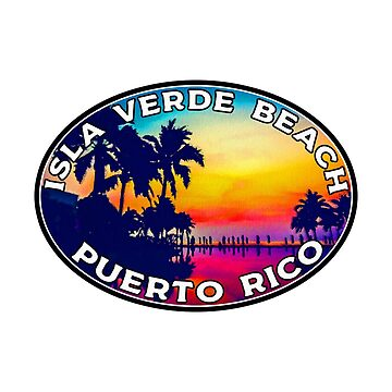 Playa Isla Verde Puerto Rico de MyHandmadeSigns