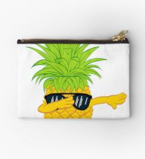Swagger Dab Sunglasses Fruit Cool Pineapple Graphic T-shirt Summe Holidays Vacation Swag Dope Design Zipper Pouch
