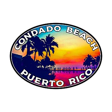 Condado Beach Puerto Rico by MyHandmadeSigns