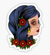 06c792bd6 Traditional Gypsy Tattoo Stickers | Redbubble