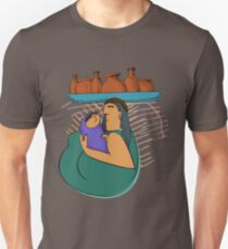 Tlapazola woman holding the pottery T-Shirt
