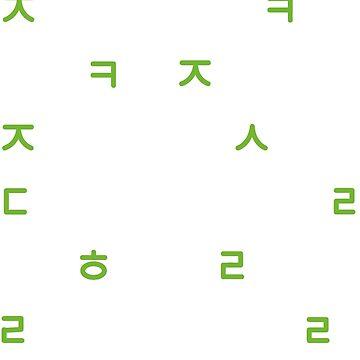 NCT - Nombres Hangul (NEGRO) 21 MIEMBROS de Duckiechan