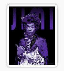 Purple Hendrix Sticker