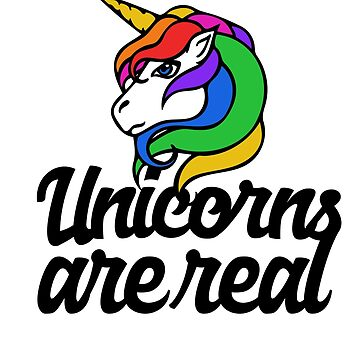 Unicorns are real by Boogiemonst