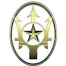 Badge of the Texas Navy by jpiteo