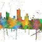 Fort Worth, Texas Skyline von Marlene Watson