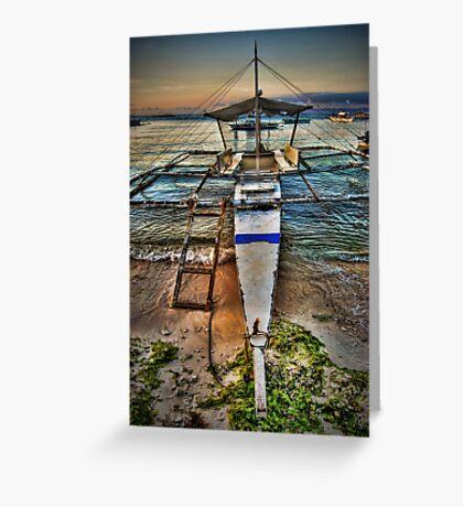 Panglao Island At Dawn Greeting Card