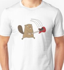Beavers - Guitar Smash Unisex T-Shirt