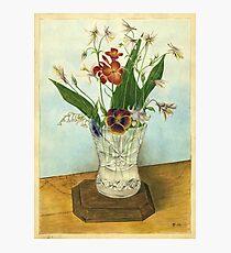 Vase of Flowers (1947) Photographic Print
