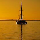 Sunset Sail Shark Bay by D-GaP