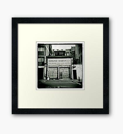 Edmund Martin - Tripe Dressers Framed Print