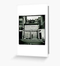 Edmund Martin - Tripe Dressers Greeting Card