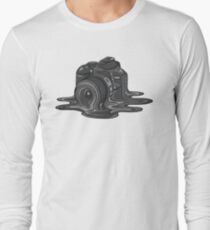 Camera Melt Long Sleeve T-Shirt
