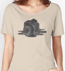 Camera Melt Women's Relaxed Fit T-Shirt
