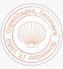 Copenhagen Sticker