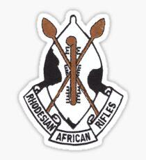 Pegatina Rifles africanos de Rhodesia