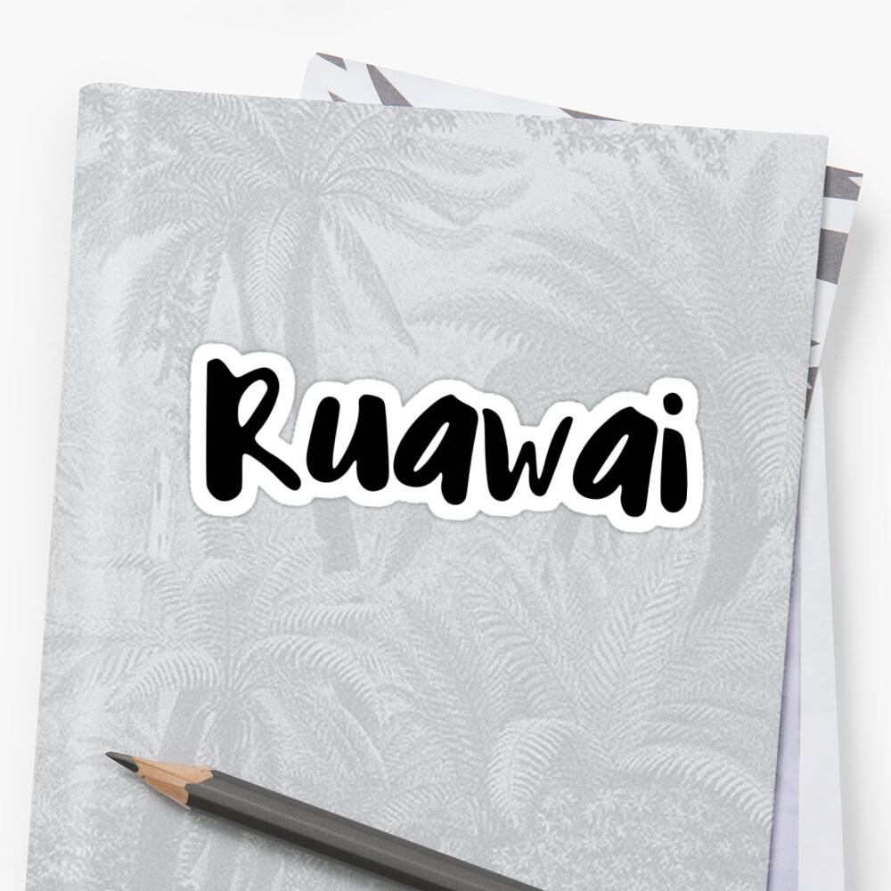 Ruawai Sticker