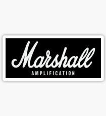 Pegatina Marshall Amplification on black