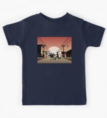 Sunset Suburban Kids Tee