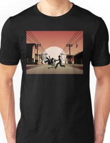 Sunset Suburban Unisex T-Shirt