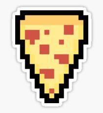 Pizza 8 Bit Stickers Redbubble