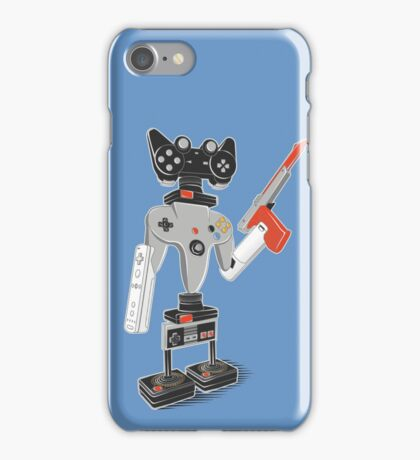 ControlBot4000 iPhone Case/Skin
