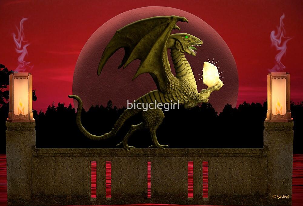 Dragon's Treasure by bicyclegirl