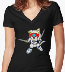 Speedy Women's Fitted V-Neck T-Shirt