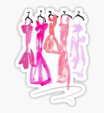 Kleider Sticker