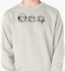 Hear Evil, See Evil, Speak Evil Pullover