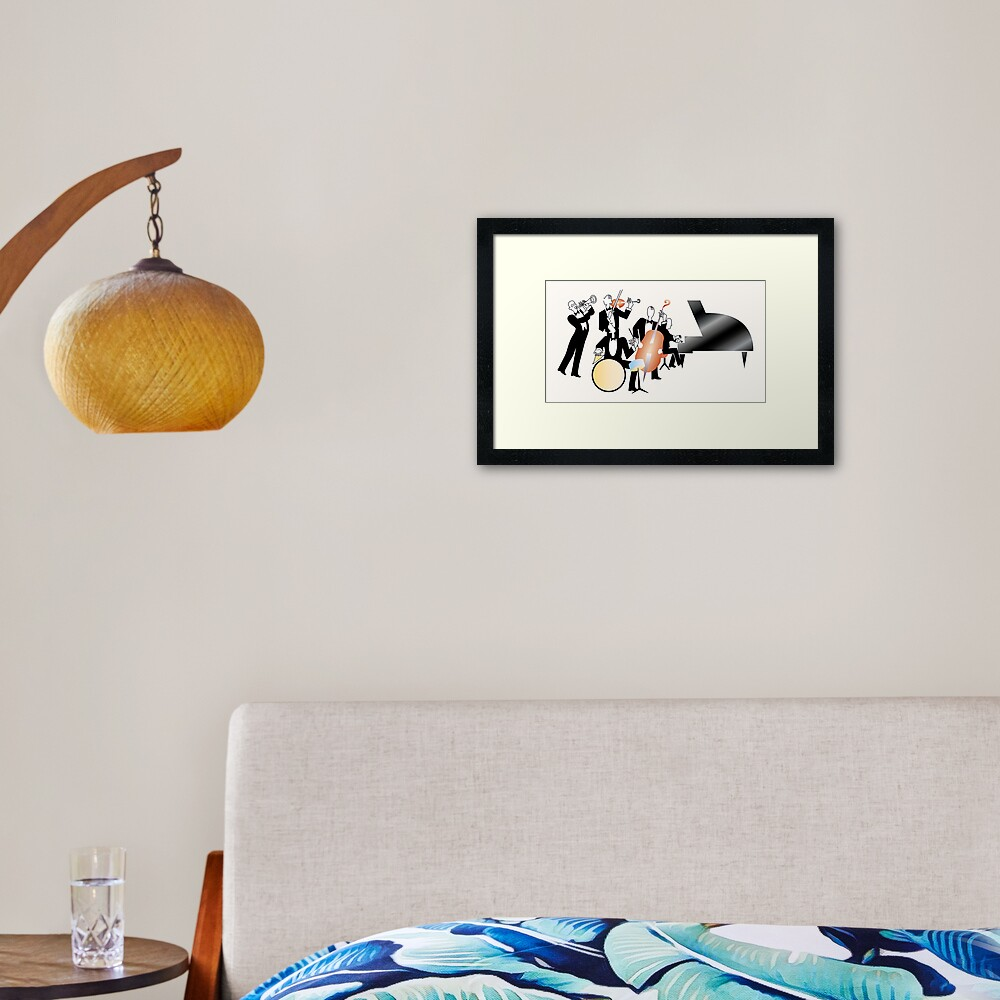 NDVH Jeeves and Wooster (without title) Framed Art Print