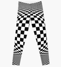 Optical Illusion Checkers  Leggings