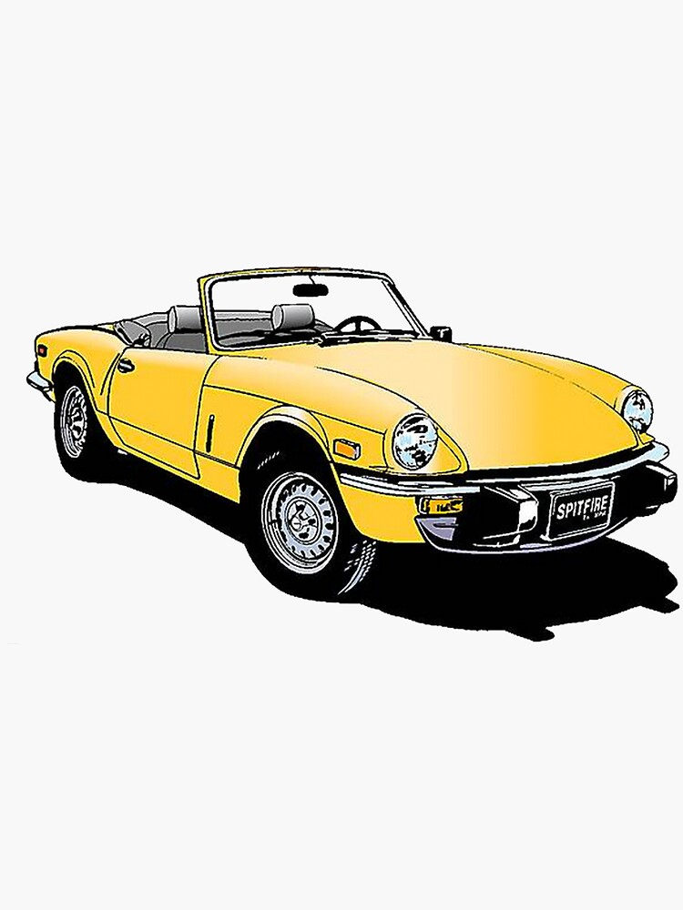 Triumph Spitfire by JustBritish