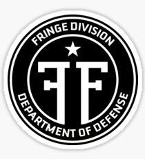 Fringe Division department of defense Sticker