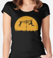Merry Go Sunset Women's Fitted Scoop T-Shirt