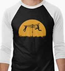 Merry Go Sunset Men's Baseball ¾ T-Shirt