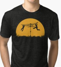 Merry Go Sunset Tri-blend T-Shirt
