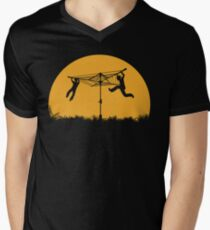 Merry Go Sunset Men's V-Neck T-Shirt