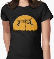 Merry Go Sunset Fitted T-Shirt