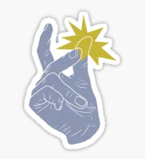 Finger Snapping Sticker