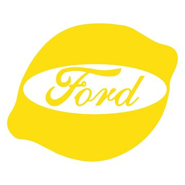 Ford Lemon Car or Truck - Yellow by parodywagon
