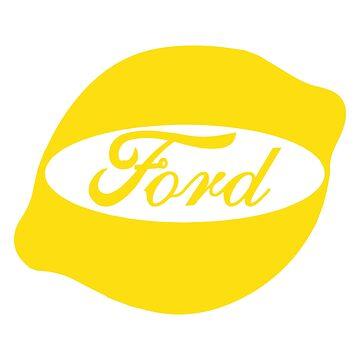Ford Lemon Car or Truck - Yellow by parodywagon
