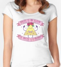 Flower Crown Bill Women's Fitted Scoop T-Shirt