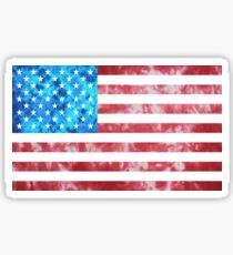 Pegatina Tie Dye bandera estadounidense