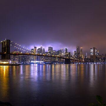 Luces brillantes de Nueva York II de Nicklas81