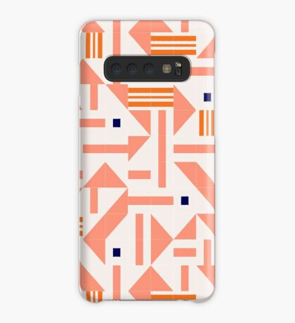Random Tiles #redbubble #pattern Case/Skin for Samsung Galaxy